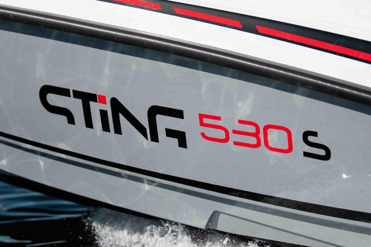Sting 530s blackline skrog