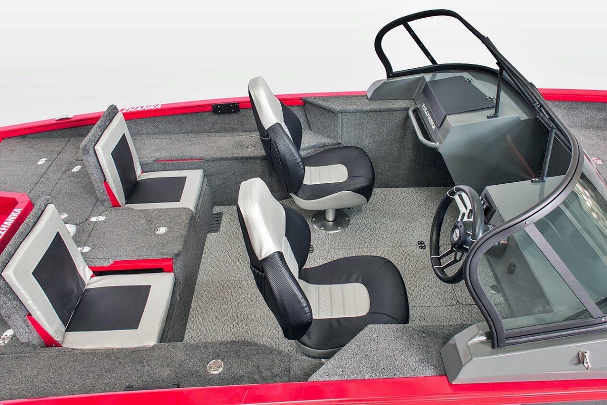 FishPro X7 cockpit