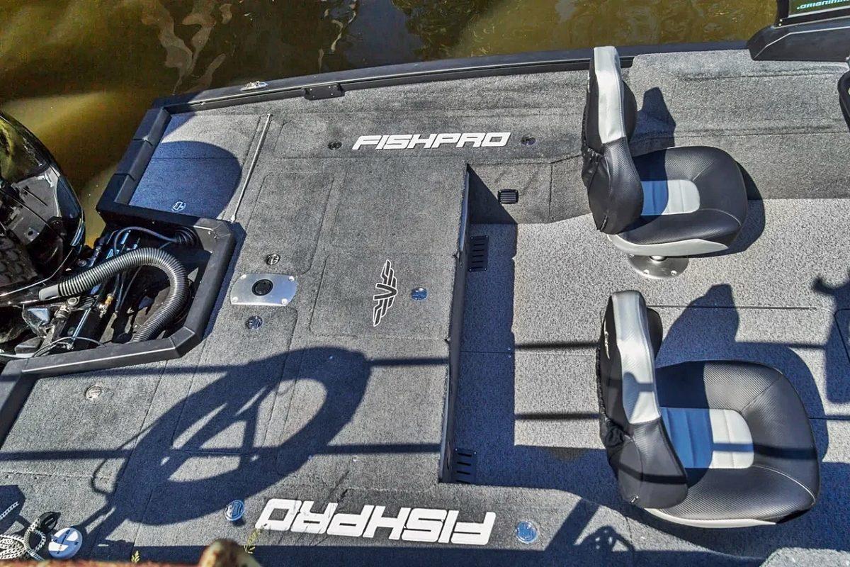 FishPro X7 Akterdekk