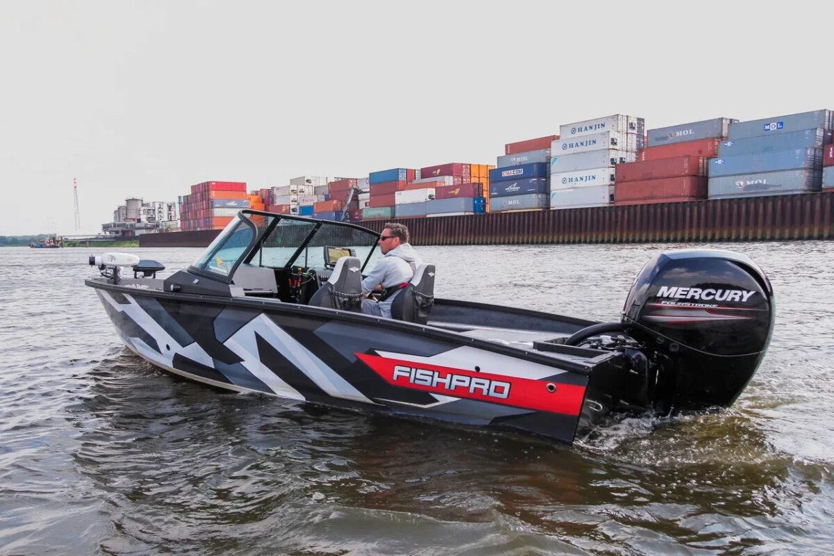 FishPro X7 Mercury 150HK utstyr