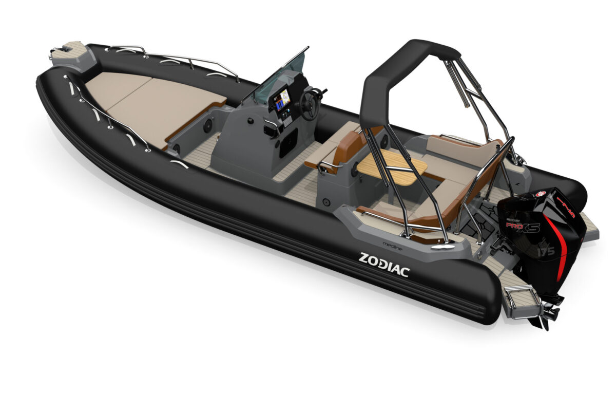 Zodiac Medline 6.8 Black Carbon Lounge Mercury Stokken Båt