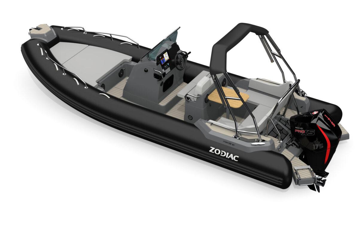 Zodiac Medline 6.8 Black Carbon soft Mercury Stokken Båt